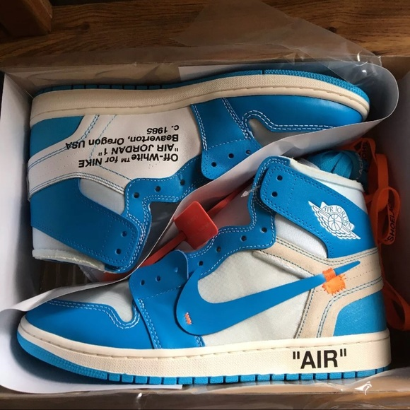 e659cdc824e Jordan Shoes | Air Off White Unc Size 105 Authentic | Poshmark